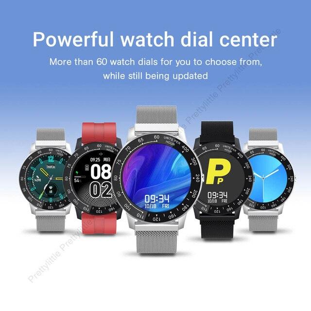 Ph30 Smart Watch Custom Dial Round 1.3 Inch IP68 Waterproof 6