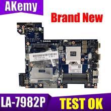 Akemy PIWG2 QIWG5_G6_G9 LA-7982P основная плата для Lenovo G580 P580 материнская плата для ноутбука