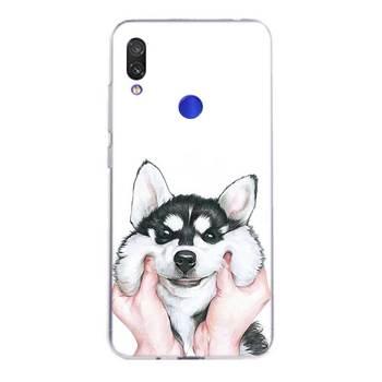 Perro Husky Fundas funda de silicona para Xiaomi Redmi Nota 9 8 7 6 5 4 Pro 7A S2 6A 5A K30 funda trasera de TPU