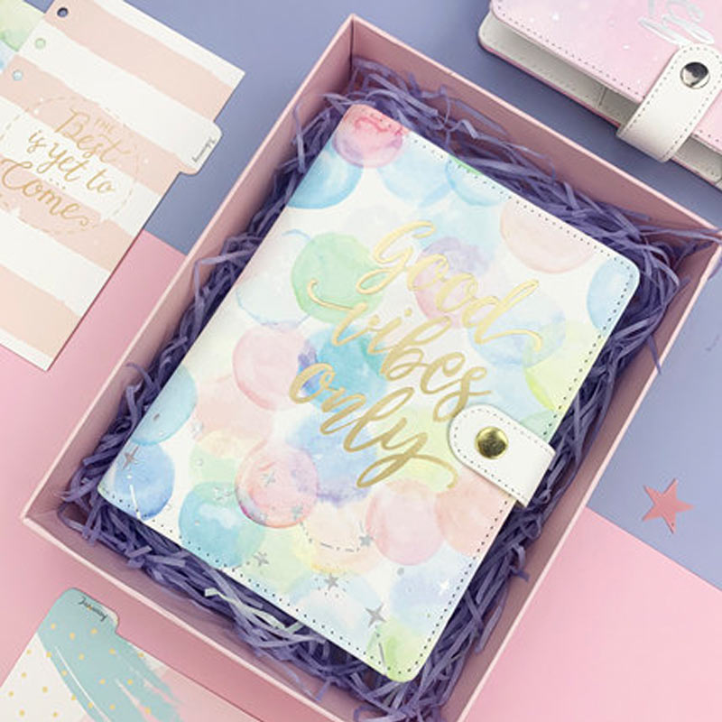 <font><b>2020</b></font> Yiwi Creative spiral notebook Original office personal diary/week <font><b>planner</b></font>/agenda organizer Cute ring stationery binder A6 image