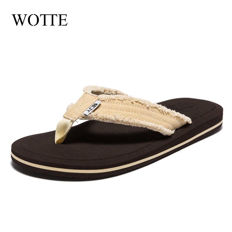 NEW Men Flip Flops Comfortable Slippers Men Beach Sandals Shoes for Men Slippers Big Size40-48 Casual Shoes zapatos para hombre