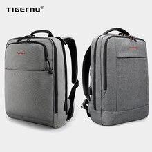 Tigernu Big Discount Casual Men 15.6inch Anti Theft Laptop Backpack Bag Fashion USB Backpack Male Travel School Backpack For Men