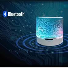 New Mini Portable Car Audio A9 Dazzling Crack LED Wireless Bluetooth 4.1 Subwoofer Speaker