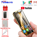 Супер мини мобильный телефон 4G смартфон K-TOUCH I9S 16 Гб/32 ГБ/64 ГБ Встроенная память Android сотовый WI-FI Google Play Face ID маленький Студент мобильный телеф...