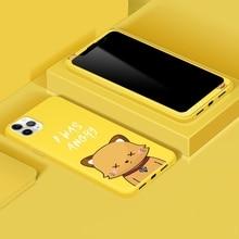 Защитный чехол для экрана для iPhone 11 Xs Max Xr Xs X 8 7 6 S, защитная пленка из закаленного стекла и матовая мягкая оболочка