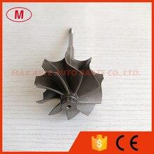 K04 46.47/52mm 9 blades turbo turbine shaft&wheel/turbo wheel/turbine wheel&shaft