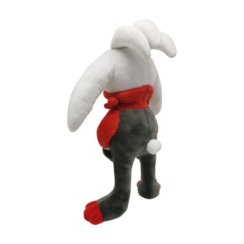 1pcs 28cm TAKARA TOMY Pokemon Scorbunny  Plush Toys Soft Stuffed Animals Toys Doll Gifts for Children Kids 3