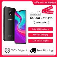 DOOGEE X95 Pro Helio A20 czterordzeniowy 4GB RAM + 32GB ROM 13MP potrójny aparat 4350mAh bateria 6.52 cala smartfony telefon komórkowy 4G-LTE