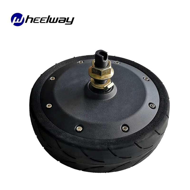 8.5 inch Single Shaft And Double Shaft <font><b>24V</b></font>-72V <font><b>500W</b></font> 1000W Encoder <font><b>DC</b></font> Brushless Servo Hub <font><b>Motor</b></font> Intelligent Robot Report image