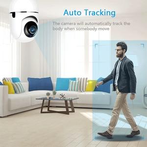 Image 3 - Aouertkワイヤレスセキュリティカメラ自動追尾モーション検出720 1080p ipカメラwifi双方向オーディオサポート64グラム監視