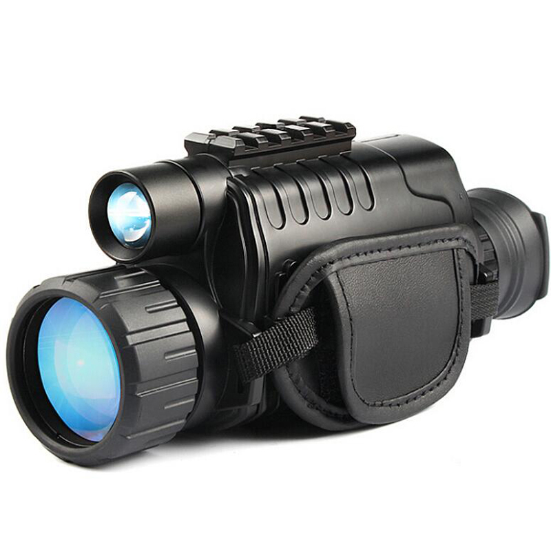 Infrared Night-Vision Monocular 5X40 Zoom Night-Vision Goggles 200M Distance Night Watching Observation and Digital Ir Hunting D