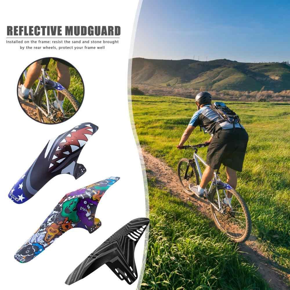 Road Bike Fender MTB Bike Plastic Fender Front Or Rear Wheel Mudguard Universal