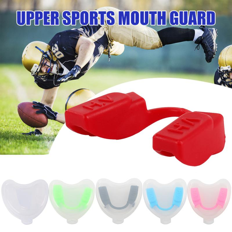 Sport Boxing Mouth Guard Safety Food Grade Teeth Protector Silicone Dental Teeth Corrector Mouth Night Anti-wear Tooth Guard