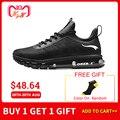 ONEMIX Высокая спортивная обувь для мужчин амортизация спортивные увеличивающие рост воздушные подушки кроссовки для прогулок беговые кросс...