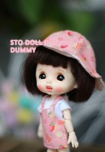 Image 2 - PRESELL Sto בובות ביצת מנומנם דמה בובת ראש התאמה אישית OB11 ראש