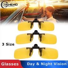 Vehemo Поляризованные клип взгляд ночного видения вождения Открытый солнцезащитные очки для мужчин и женщин