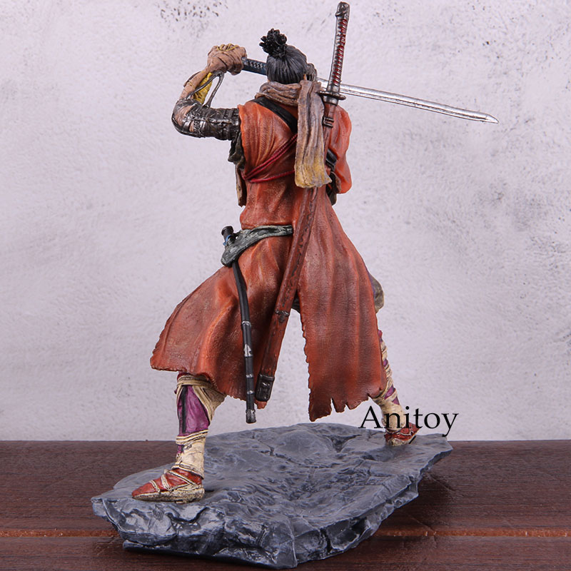 Image 5 - Sekiro Shadows Die Twice Figure PVC Anime Action Figures Collectible Model ToyAction & Toy Figures   -