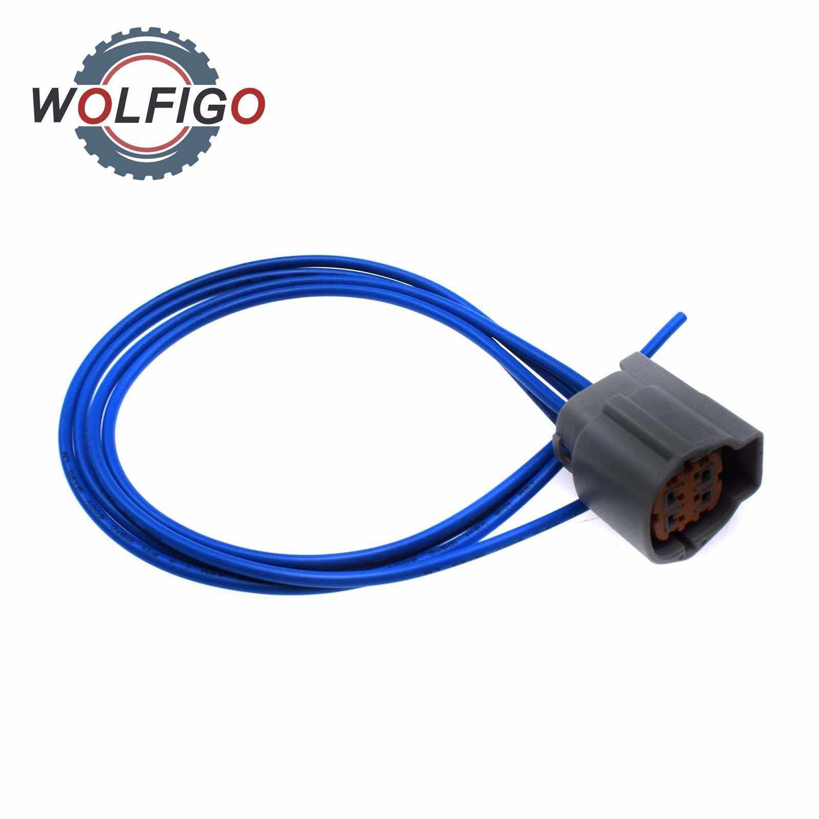 wolfigo o2 oxygen sensor connector pigtail harness for nissan subaru  infiniti rs04fg|exhaust gas oxygen sensor| - aliexpress  aliexpress