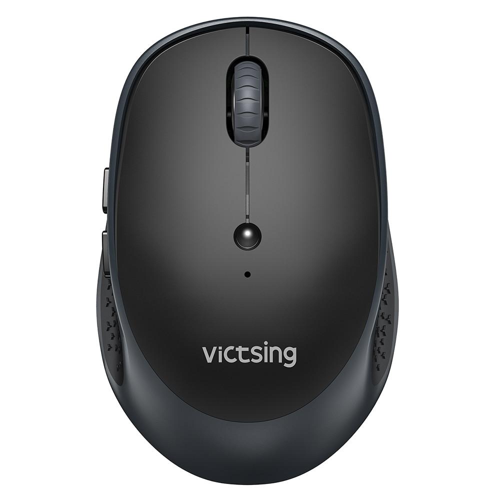 VicTsing PC254 Wireless Mouse 2400DPI Adjustable Portable Bluetooth Mouse 2.4Ghz USB Optical Cordless Mice For PC Tablet Laptop PK Logitech Ajazz ACGAM Razer (8)