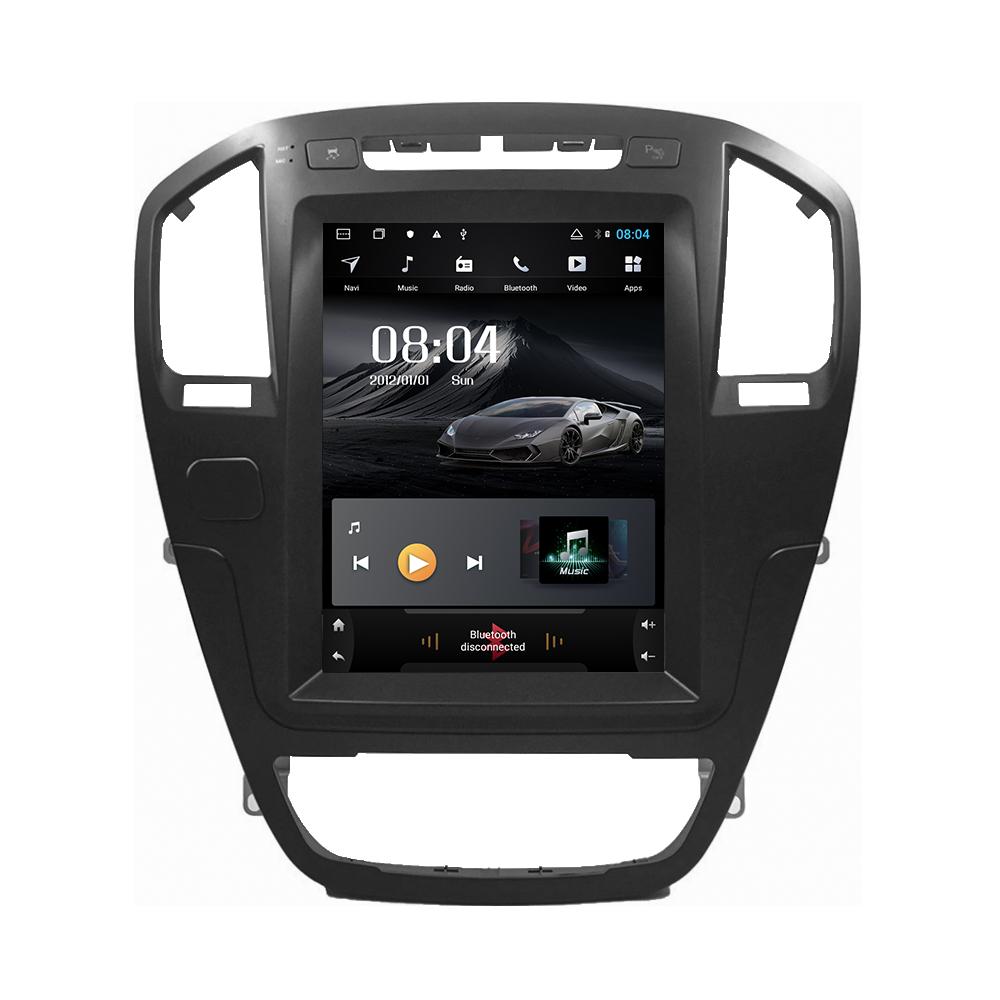 Verticale dello schermo di android 9.0 del sistema gps per auto multimedia video radio player in dash per opel insignia auto di navigazione utilizzabile stereo