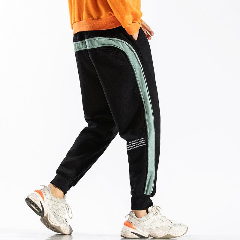 2020 Spring Autumn Black GREEN Men Pants Fashions Joggers Casual Sweatpants Track Men'S Sweat Trouser