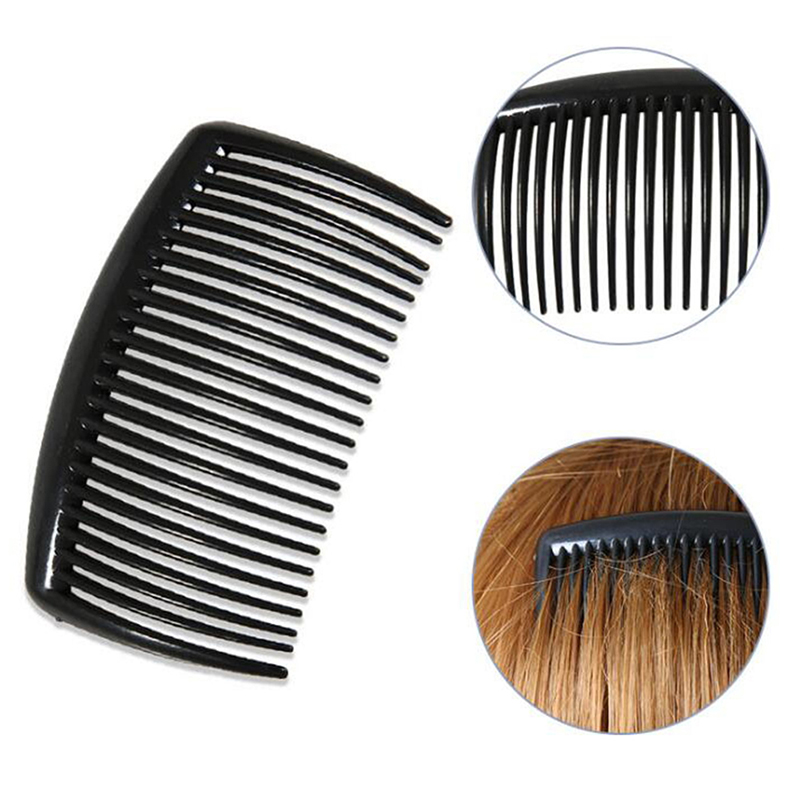 Handmade Comb 29 Tooth Plastic Hair Comb Pin Hair Accessories Headwear Hairband Women DIY Clip
