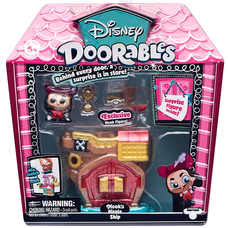 Disney Doorables Frozen Elsa Olal Mickey Minnie Judy Pinocchio Rapunzel Alice Snow White Belle Princess Blind Box Girl Kids Toys 18