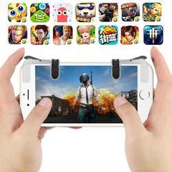 PUBG Джойстик контроллер триггера геймпад проводной геймпад L1R1 огонь цель мобильный телефон шутер игровой Тригер Универсальный 1 пара