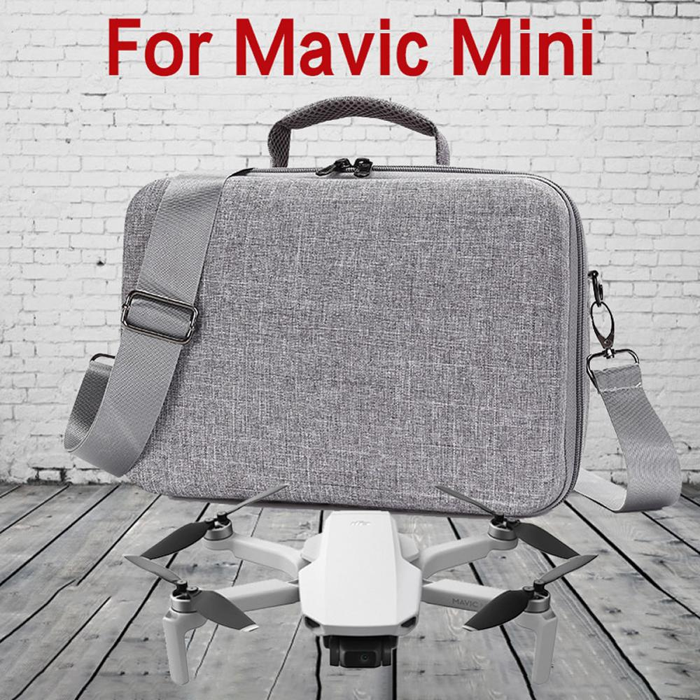 New Portable Case For DJI Mavic Mini Drone Hard Shell Shoulder Bag Mavic Mini Accessories Full Set Storage Waterproof Box