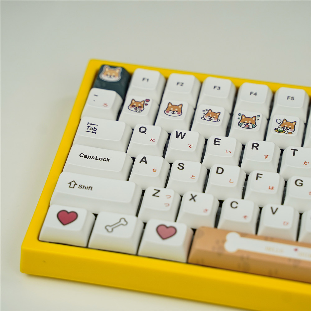 PBT Subbed <font><b>Keycaps</b></font> XDA Profile 2U 1.75U Shift Compatible GH60 GK61 GK64 XD60 <font><b>68</b></font> 78 84 87 96 104 108 Mechanical Keyboard image