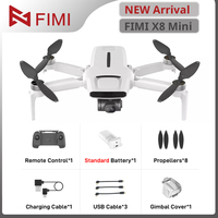 FIMI-Mini Dron con cámara de 8km 4k profesional, cuadricóptero 250g-class, GPS, cámara para FIMI X8
