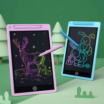 8.6 Inch LCD Writing Tablet Digital Drawing Tablet Handwriting Pads Portable Electronic Tablet Board Ultra-thin Board with Pen