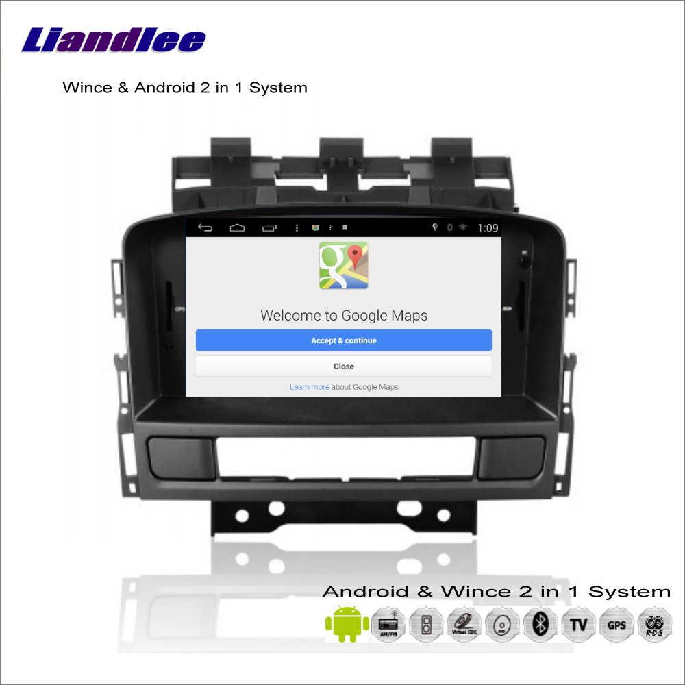 Liandlee Mobil Android Multimedia Stereo untuk Opel Astra 2010 ~ 2013 Radio Bt Cd Dvd Player GPS Navi NAV Peta navigasi Audio Video