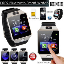 2018 Smart Watch DZ09 Smartwatch Pedometer Clock With Sim Card Slot Push Message Bluetooth Connectivity Android Phone Men Watch