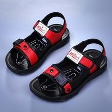 2020 New Children Baby Boys Sandals Blue Summer Beach Shoes Open Toe Casual Kids Non-slip Soft Bottom Slippers Sandals Kids набор linen trio черный