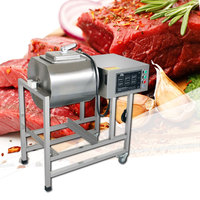 220V/200W commercial automatic stainless steel pickling machine vacuum pickling machine rolling machine meat roll machine