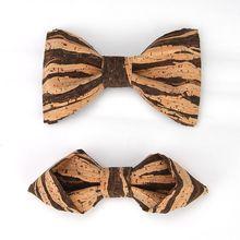 Модные мужские креативные деревянные зерна Свадебные тренды галстук-бабочка