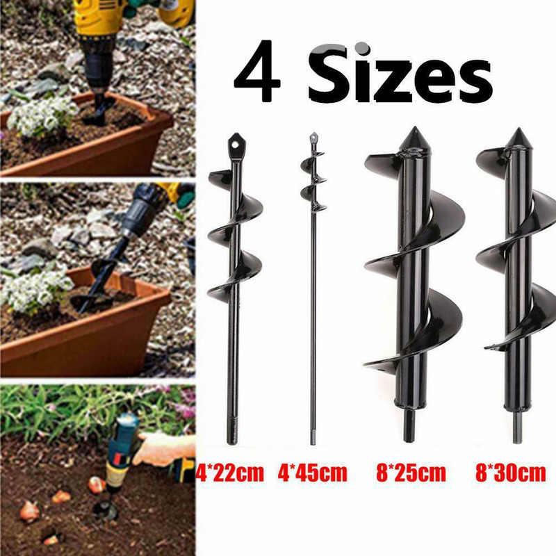 5 tailles Foret de creusage en spirale de foreuse de taille de pour planteur  !