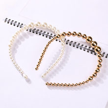 Women's Girl Pearl Hairband Hair Styling Accessories Headband Headpiece Hair Hoop Simple Fashion Headwear New Arrival(China)