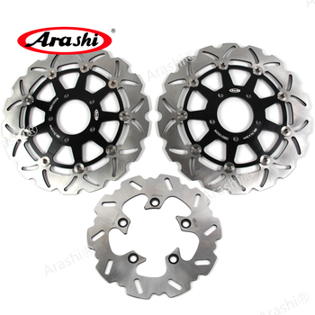 Arashi 1 Set 290 / 220 mm CNC Front Disc Rear Brake Rotors For SUZUKI  SV 650 S SV650S 2003 2004 2005 2006 2007 2008 2009 SV650