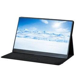 جديد 15.6 بوصة 9 مللي متر رقيقة جدا 4K HDR شاشة تعمل باللمس المحمولة نوع-C الهاتف رصد HDMI للتبديل/XBOX/PS4 كمبيوتر محمول سطح المكتب