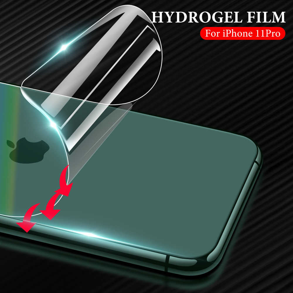 ScratchProof Back Film For iPhone 11 Pro Max 6 6S 8 7 Plus Cover Screen Protector For iPhone 11 X XR XS Max Soft Film Not Glass