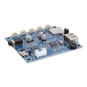 Image 3 - AIYIMA Bluetooth 5,0 Power Verstärker Bord 2x3W Stereo Bluetooth Audio Empfänger MP3 Decoder Unterstützung U Disk TF karte FM Radio