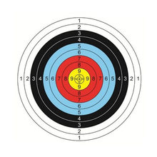 40cm 60cm Useful Profession Archery Targets Paper Full Ring Beginner Bow Arrow Gauge Shooting Target HOT Sale(China)