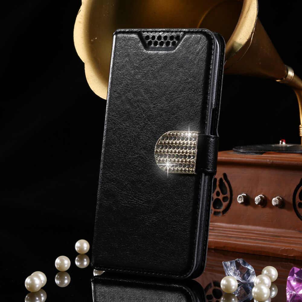 Clásico caso de cartera de cuero de la PU Vintage Flip casos para teXet TM-5083 TM-5084 TM-5583 TM-5584 pagar 5 5,5 TM-5071 del teléfono de la moda bolsa