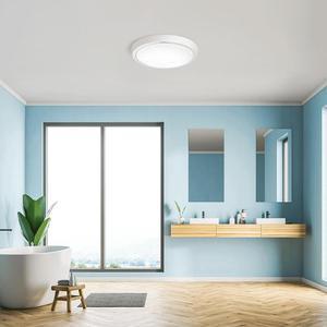 Image 4 - OPPLE IP44 lampe étanche LED plafonnier pour cuisine salle de bain balcon allée PC acrylique plafonniers 6W 12W luminaire rond
