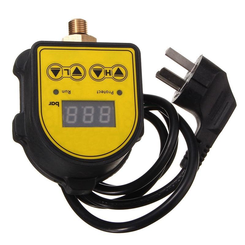 Image 4 - Цифровой контроллер автоматического воздушного насоса водяного масла компрессор переключатель регулятора давления для водяного насоса вкл/выкл Au PlugВыключатели    АлиЭкспресс