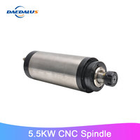 5.5KW CNC Spindle ER32 Collet Water Cooled Machine Tool Spindle 380V Milling Router Motor For Drilling Engraver