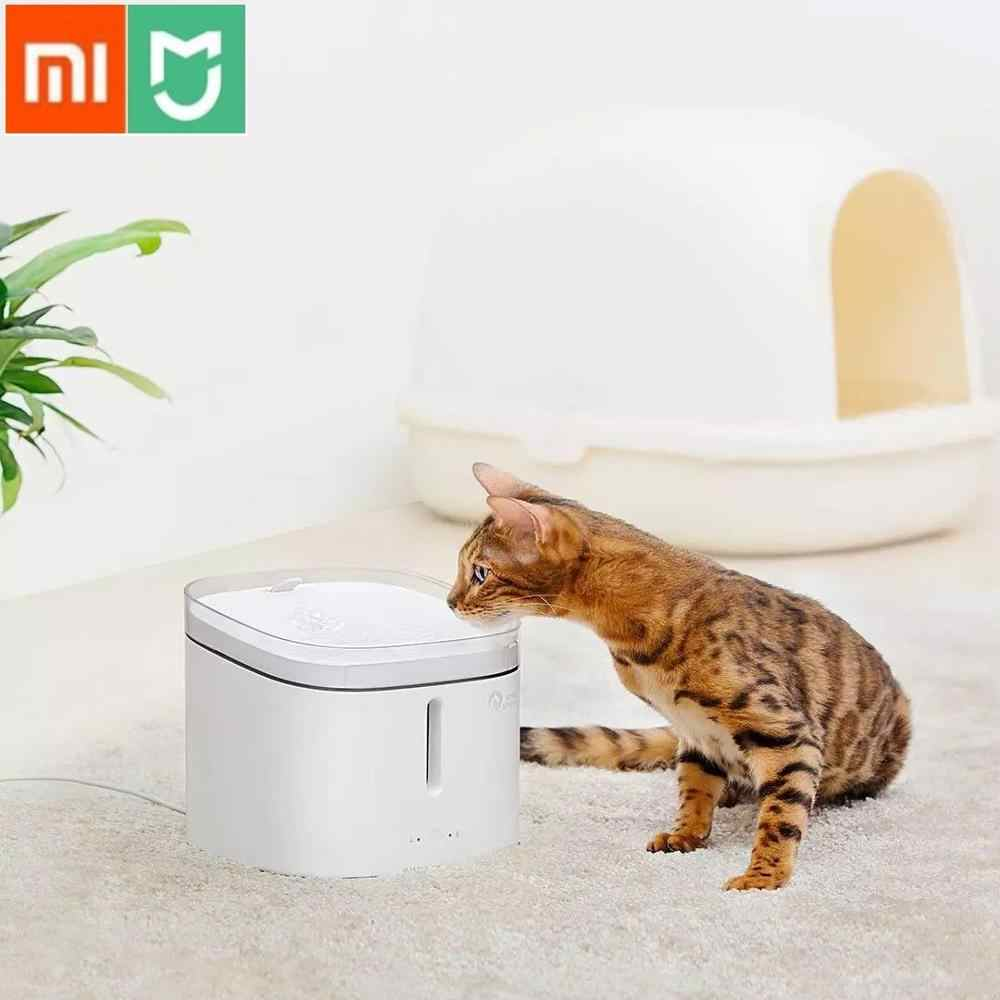 Xiaomi Mijia Kitten Puppy Pet Water Dispenser Kat Living Water Fontein 2L Elektrische Fontein Automatische Smart Hond Drinkbak