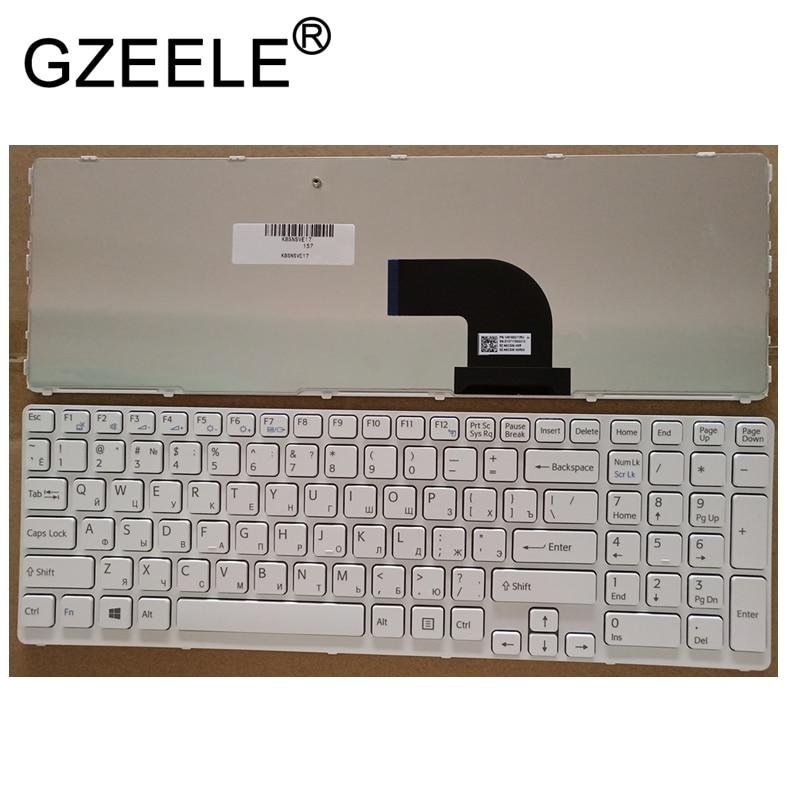 NEW RU Laptop Keyboard FOR Sony Vaio SVE17 SVE1711 SVE1712 SVE1713 SVE1712L1E SVE1713G1EW SVE1711C5E SVE171C11 Russian